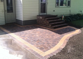 custom concrete and brick