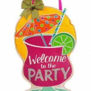 Party Welcome Door Decor