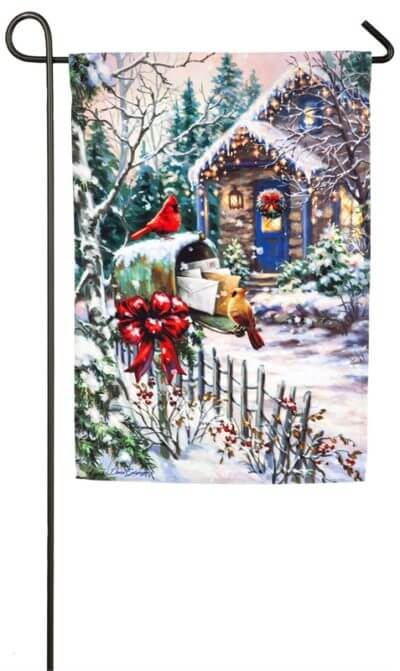 Cardinal Cottage Garden Flag