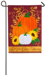 Let Us Give Thanks Garden Flag