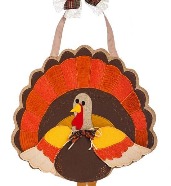 Turkey Time Door Decor