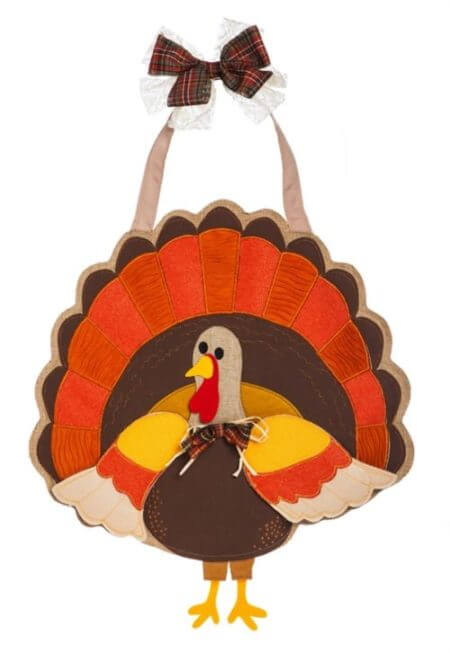 Turkey Time Door Decor