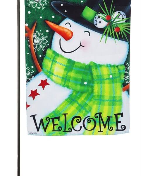 Welcome Snowman Garden