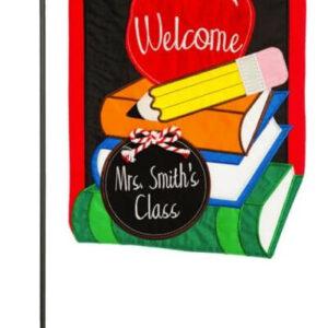 School Welcome Garden Flag