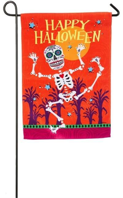 Sugar Skull Garden Flag