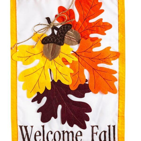 Autumn Leaves House Flag