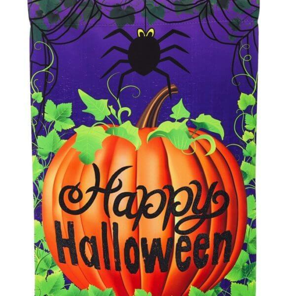 Halloween Spider House Flag
