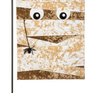 Mummy Garden Flag