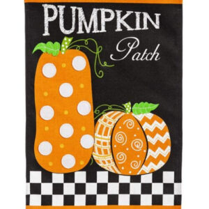 Pumpkin Patch House Flag