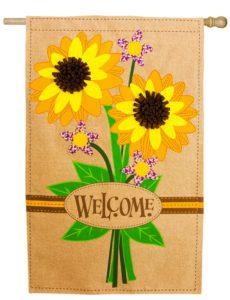Sunflower Bouquet House Flag