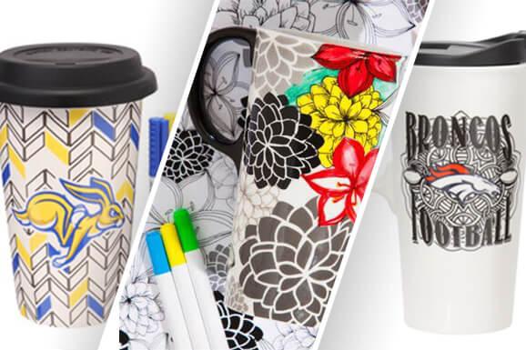 Color & Create a Unique Christmas Gift